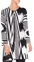 Missoni Tie-Dye Flame Heartbreak Sweater, Black/White