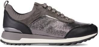 Geox Logo Lace-Up Sneakers