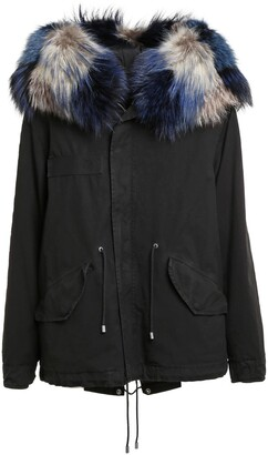 Mr & Mrs Italy Genuine Fox Fur Trim Parka