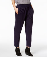 Eileen Fisher Hemp-Organic Cotton Ankle Pants, a Macy's Exclusive Style