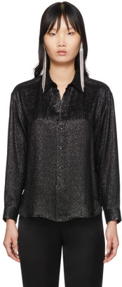 Saint Laurent Black Silk Shirt