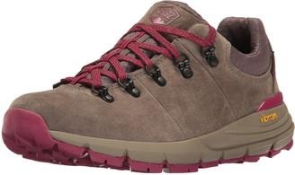 "Danner Women's Mountain 600 Low 3"" Gray/Plum Hiking Boot 6 M US"