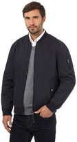 J By Jasper Conran Big And Tall Navy Bomber Baseball Jacket