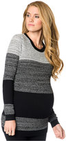 A Pea in the Pod Maternity Colorblocked Sweater