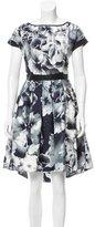 Marchesa Voyage Silk Floral Dress w/ Tags