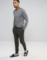 Asos Loungewear Skinny Joggers With Contrast Waistband
