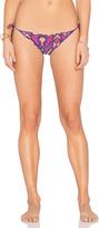 Vix Paula Hermanny Ripple Side Tie Bikini Bottom