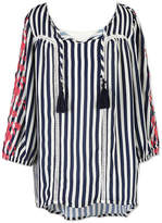 Speechless Embroidered 3/4 Sleeve Top - Girls' 7-16