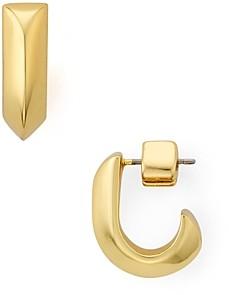 Kate Spade Raise the Bar Huggie Hoop Earrings