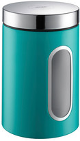 Wesco Kitchen Storage Canister with Window - Turquoise
