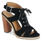 Kelsi Dagger Brooklyn London Suede Lace-Up Sandals