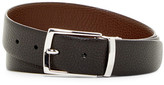 a. testoni Karibu Calf Leather Reversible Belt