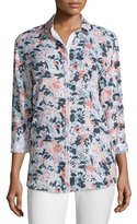 Lafayette 148 New York Sabira Bloom Blouse