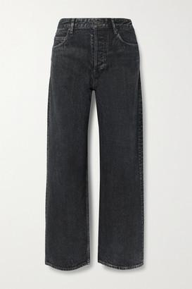 Balenciaga - High-rise Wide-leg Jeans - Black
