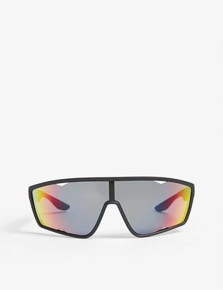 Prada Linea Rossa Linea Rossa wraparound sunglasses