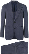 Tagliatore two-piece jacquard suit - men - Cupro/Virgin Wool - 48