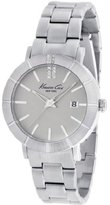 Kenneth Cole New York Women's KC4867 Classic Triple Silver Etched Bezel Watch