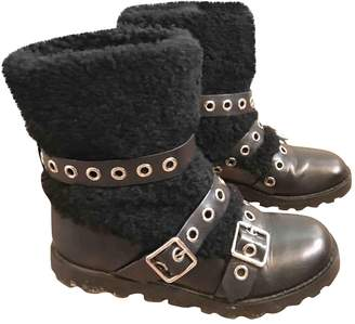 Marc by Marc Jacobs \N Black Leather Boots