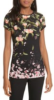 Ted Baker Women's Peach Blossom Fitted Tee