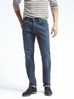 Banana Republic Straight Rapid Movement Medium Blue Wash Jean