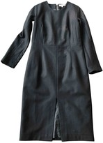Rika Black Wool Dress for Women