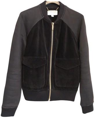 Michael Kors Black Suede Jackets