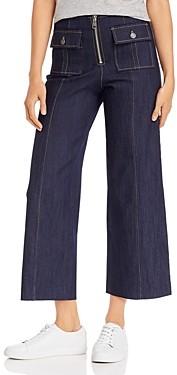Cinq à Sept Cropped Azure Jeans in Indigo