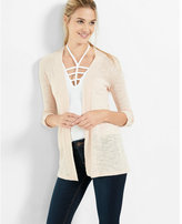 Express lightweight rolled sleeve cover-up