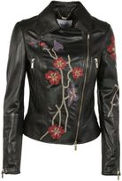 Blugirl Embroidered Biker Jacket