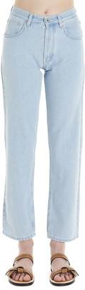 Loewe embroidery Pocket Jeans