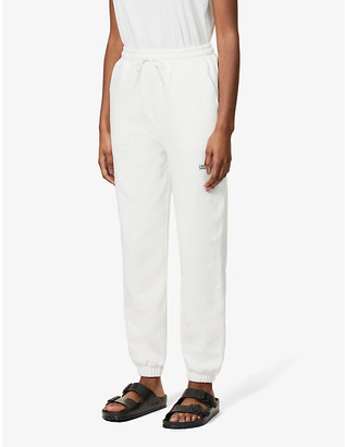 Camilla And Marc Denver logo-embroidered high-rise cotton-jersey jogging bottoms