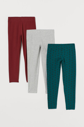 H&M 3-pack Jersey Leggings