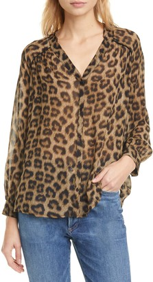BA&SH Leopard Top