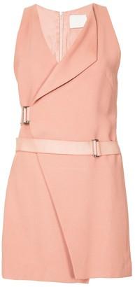 Dion Lee holster mini wrap dress