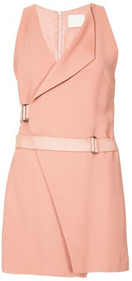 Dion Lee Holster Mini Wrap Dress