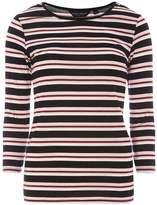 Dorothy Perkins Multi Coloured Stripe T-Shirt