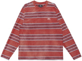Stussy Bleach Striped Long-Sleeve T-Shirt