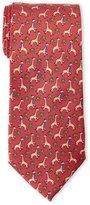 Pierre Cardin Silk Giraffe Print Tie