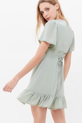 Urban Outfitters Newport V-Neck Mini Dress