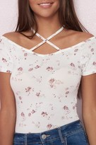Garage Strappy Off-Shoulder Top