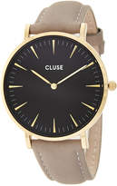 Cluse Women's La Boheme Leather Watch