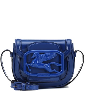 Etro Exclusive to Mytheresa Pegaso patent leather shoulder bag
