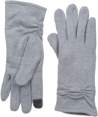 Gloves International Women's Wool Blend Gloves with Cinch Grey Small