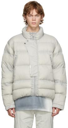 C2H4 Grey Down Puffer Jacket