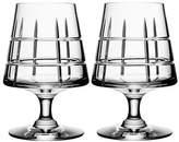 Orrefors Two-Pack Street Cognac Glasses