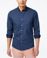 Barbour Men's Sawyer Geo-Print Long-Sleeve Shirt