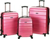 Rockland Melbourne 3 Piece Luggage Set