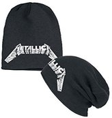 Metallica Beanie Hat Master of Puppets Slouch new Official