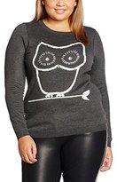 Evans Women's Stitch Owl Jumper