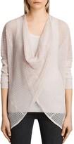 AllSaints Itat Levita Convertible Open-Knit Sweater